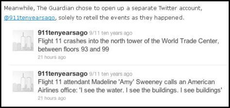 Guardian 9/11 Twitter Fail