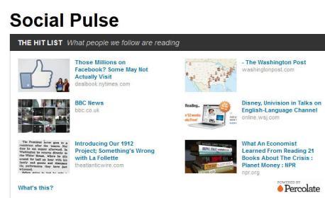 Reuters Social Pulse