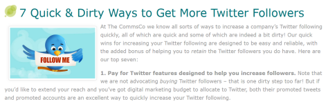 7 Quick and Dirty Ways to Get more Twitter Followers